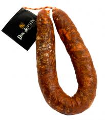 Pata Negra Chorizo Paprikawurst (Sarta) extra naturbelassen aus Eichelmast Höchste Qualität Don Agustín