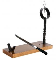 Schinkenhalter Sevilla Buarfe mit Schinkenmesser